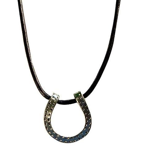 Exselle Horseshoe Pendant