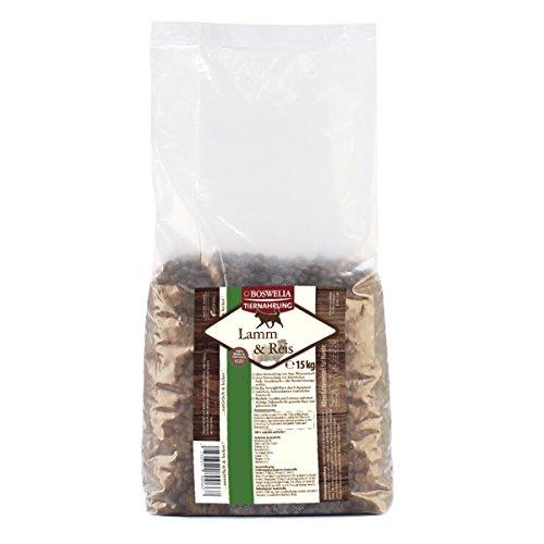 Artikelbild: Boswelia Trockenfutter Hund Lamm und Reis 15 kg, 1er Pack (1 x 15 kg)
