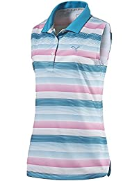 Puma Golf Womens Road Map Polo, Blue
