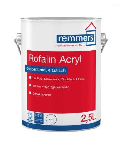 Preisvergleich Produktbild Remmers Rofalin Acryl Plus weiss 20l