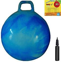 Apple Hopper Ball: 28In/70Cm Diameter For Age 13+, Pump Included (Hop Ball, Kangaroo Bouncer, Hoppity Hop,