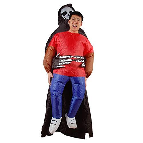 D'assassin Kostüm - CYHY Adult Inflatables, Sumo aufblasbare Kleidung, Fat Man Kostüme, Puppen, aufblasbare Karneval Party, Cosplay, 26 Looks erhältlich (Color : D)