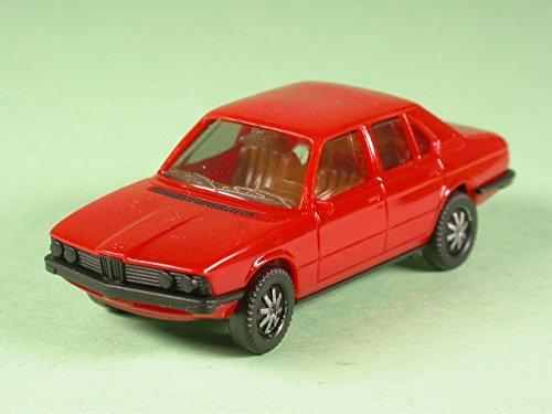 Preisvergleich Produktbild BMW e28 528i rot Modellauto herpa 1:87