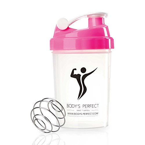 BODY'S PERFECT Protein Shaker / Diet Shaker | 500 ml | rosa