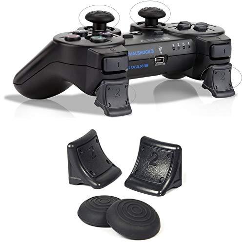 FeiyanfyQ Daumengriff Joystick Cap Cover Extender für Sony PS3 Game Controller (Deckt One Spiel Xbox)