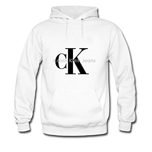 CK Tops Tops T Shirt Womens Fashion Hoodie Calvin Klein Sweatshirt White