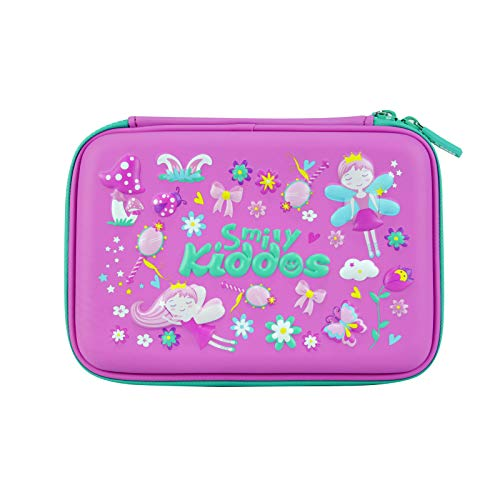 Smily Single Compartment Pencil Case Purple | Pencil Cases for Kids | Girls and Boys Best Return Gifts for Kids | Girls and Boys Big School Pencil Cases for Kids Boys and Girls...