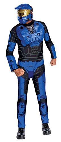 o Kostüm (Blauer Spartaner Kostüm)