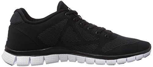 Peak Sport Europe Peak Sport Europe F Lites Black-white Unisex Sneaker, basket mixte adulte Noir (black/white)