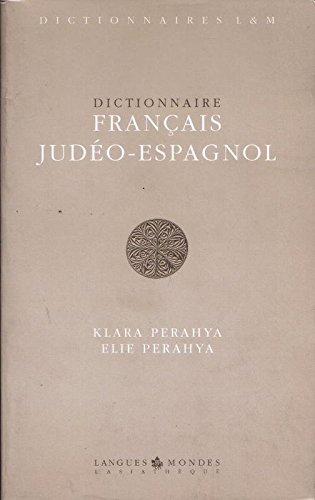 Dictionnaire français-judéo-espagnol