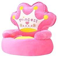 BIGTO Childrens Chair Plush kids Armchair (Princess)
