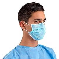 Op-Maske aus Polypropylen mit 3Schichten von Farbe Blau mit elastischen Headset–50Stück preisvergleich bei billige-tabletten.eu