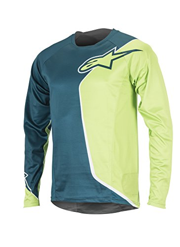 Alpinestars Herren Sierra Long Sleeve Jersey Medium Shaded Spruce Green (Alpinestars Long Sleeve Shirt)