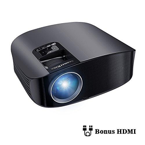 Proyector HD, BeamerKing LED Proyector Video...