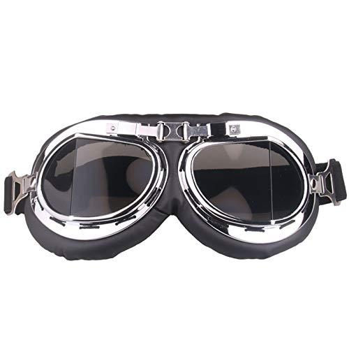 Retro Goggles Motorrad Cruiser Scooter MTB Snowboard Winddichte Brille