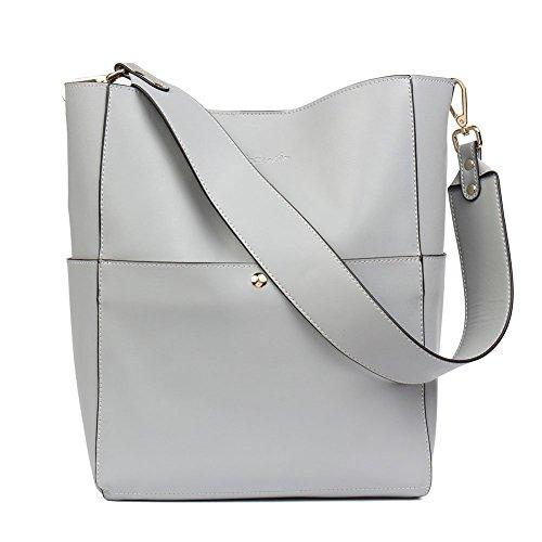 BOSTANTEN Prime Day Leder Damen Handtasche Schultertasche Umhängetasche Designer Tasche Groß