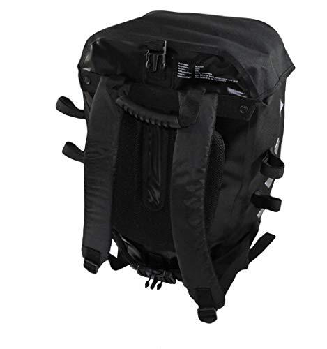Red Loon Pro 3-fach Packtasche schwarz/schwarz Fahrrad Rucksack Gepäckträgertasche Hecktasche wasserdicht
