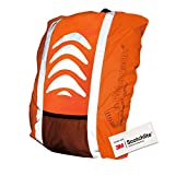 Salzmann Unisex's 40006 Backpack Cover, Orange, Standard (up to 36L)