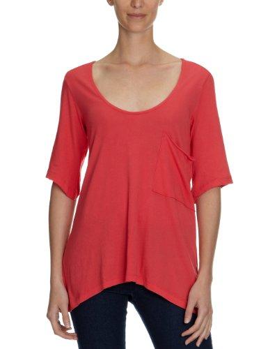 Bobi Damen T-Shirt 525-08060, Rundhals Pink (Rio)