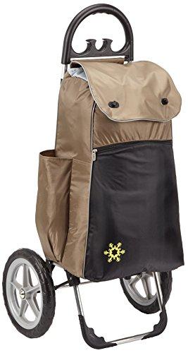 Einkaufshilfe Comfort braun mit 2 großen Rädern 55 Liter Volumen Hersteller: Stock-Fachmann