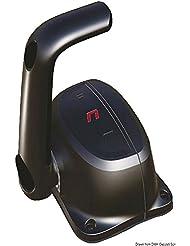 Scatola monoleva nera B501B English: Single lever control box black B501B