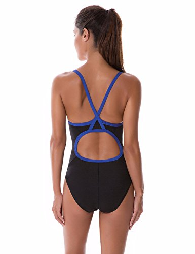 SYROKAN Damen Einteiler Sports Badeanzug - Endurance Bademode Schwimmanzug Mehrfarbig #6