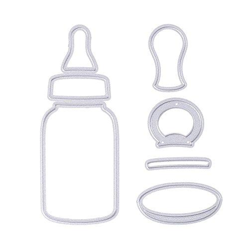 Flasche Formen Schablonen DIY Metall Scrapbooking Album Decor (Milch Karton Hat)