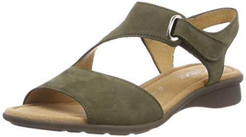 Gabor Shoes Gabor Basic, Mules para Mujer, Gris (Stone), 38.5 EU