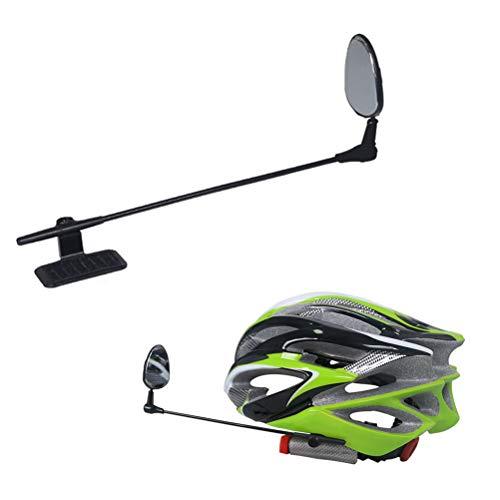EisEyen Specchietto retrovisore per Bicicletta da Bicicletta Leggero Regolabile a 360 ° per Motociclett
