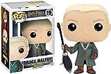 FunKo Figurine Pop ! Harry Potter 19 - Draco Malfoy (avec Balai de Quidditch)