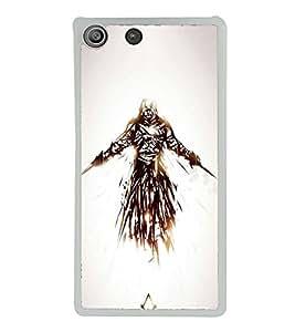 Fuson Designer Back Case Cover for Sony Xperia M5 Dual :: Sony Xperia M5 E5633 E5643 E5663 (Fighter weapons war destruction Protector)
