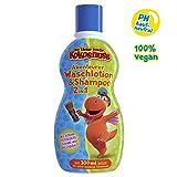 Der kleine Drache Kokosnuss Waschlotion & Shampoo 2 in1, für die tägliche Pflege für Haut und Haar, reinigt gründlich, besonders schonend, für zarte und empfindliche Kinderhaut & Kinderhaar entwickelt