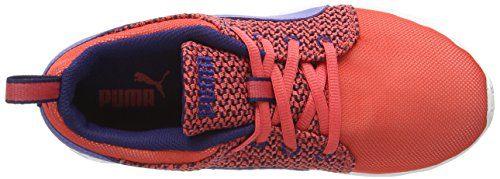 Puma Carson Runr Knit - Sneakers Basses - Femme Rouge - Rot (cayenne-bleached denim-astral aura 02)