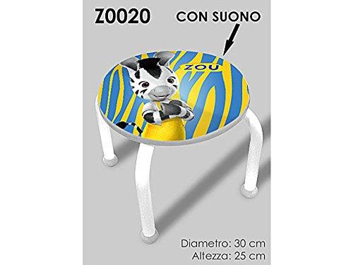 Cebra Zou taburete C/Sonido z0020