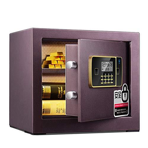 Caja Fuerte de Seguridad,31L Cerradura de Teclado Electrónica Sólida de Caja de...