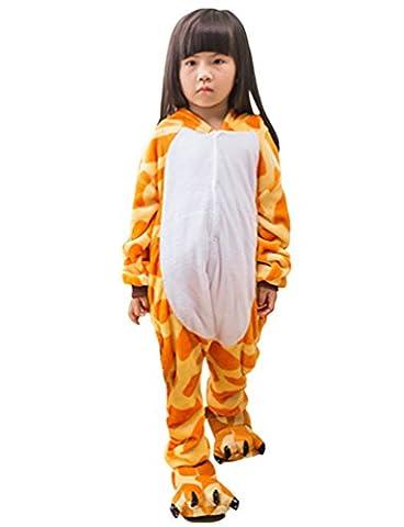 Pyjama Grenouillere Girafe - MissFox Unisexe Combinaison Kigurumi Pyjama Enfants Anime