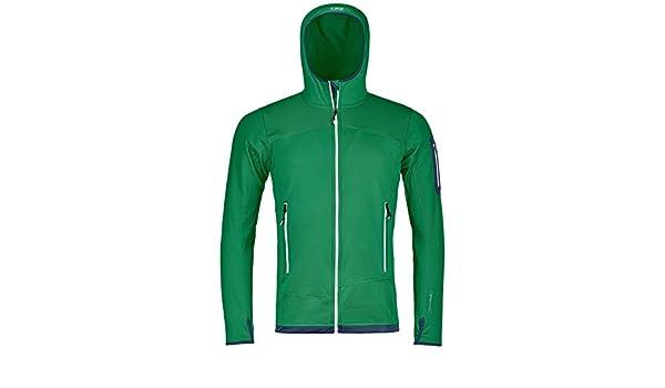 Amazon 87096 UOMO ORTOVOX MERINO HOODI FLECCE it GREEN LIGHT IRISH 8RRqOaTn