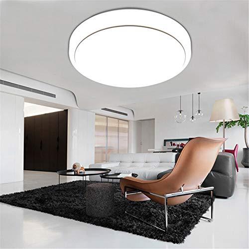 Led deckenleuchte moderne minimalistische wohnzimmer lampe runde led schlafzimmer esszimmer lampe balkon gang engineering lampe silber linie maske 26 cm ton drei farbe 12 watt -