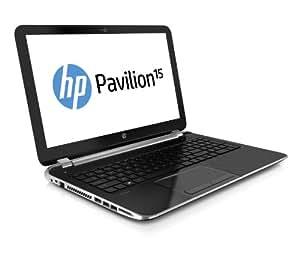 HP Pavilion 15-N021SG 39,6 cm (15,6 Zoll) Notebook (Intel Core i7 4500U, 1,8GHz, 4GB RAM, 500GB HDD, NVIDIA GF GT 740M, DVD, Win 8) schwarz