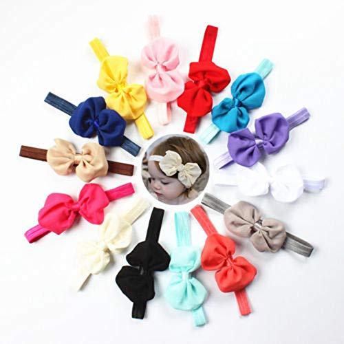 ktive Schöne Mädchen Baby Kleine Prinzessin Chiffon Kleinkind Stirnband Mit Bowknot Design ()