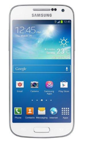 Samsung GT-I9195ZWABTU - I9195 Galaxy S4 Mini Sim Free Android 8GB - White