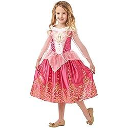 Rubies 640714L - Disfraz de la princesa Aurora, la Bella Durmiente de Disney para niñas, talla grande