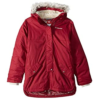 Columbia Girls' Mid-Length Waterproof Jacket, Carson Pass 10