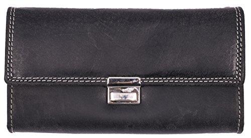 bellebay-unisex-geldborse-waiters-wallet-high-quality-leather-long-wallet-black