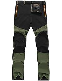 Pantalones de hombre Impermeable A prueba de viento Al aire libre Excursionismo Alpinismo Deportes Calentar Invierno
