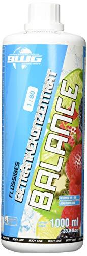 BWG Vitamin & Mineral Getränk, Electrolyte Konzentrat (Kaktus-Feige), Vegan, (1 x 1000 ml Flasche), Inklusive Dosierspender, 1er Pack (1 x 1 l)
