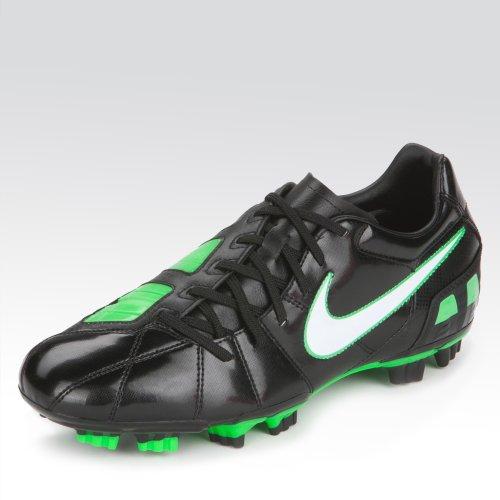 Nike 844874, Sneakers Basses Homme Noir/blanc/vert