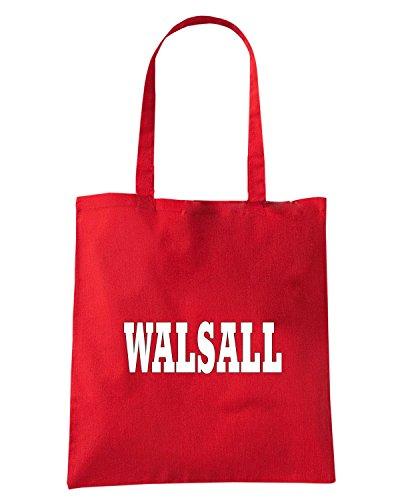 T-Shirtshock - Borsa Shopping WC0744 WALSALL Rosso