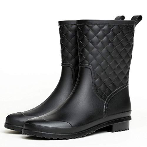 Hishoes Botas de Agua Mujer Impermeables Botas