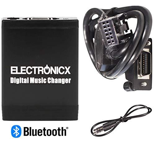Electronicx Elec-M06-RD4-BT Adaptador de musica digital para coche USB, SD MP3 AUX...